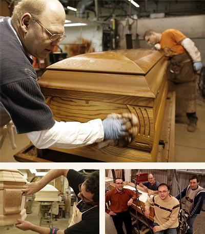 Производство гробов в Санкт-Петербурге