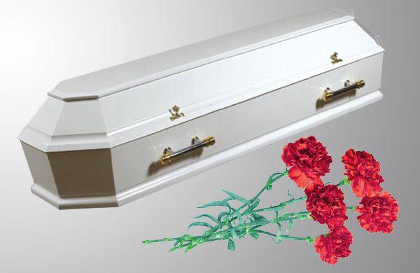 Гроб белый Прана