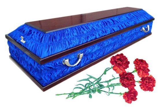 Гроб комбинированный Челси. Купить в СПб