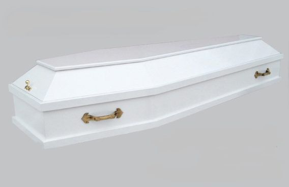 Гроб Новый белый заказать