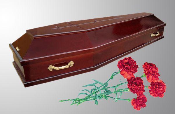 Гроб новый без креста