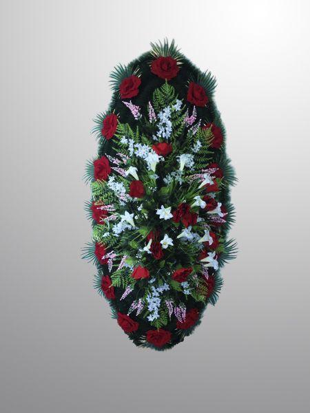 венок искусственный похоронный №5-1