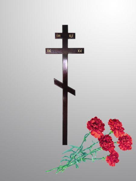 крест лакированный на могилу