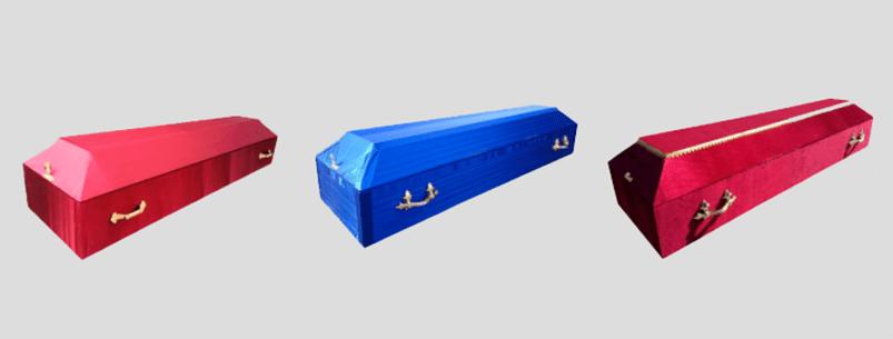 Ритуальные услуги гробы обитые тканью