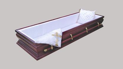 Гроб дорогой элитный