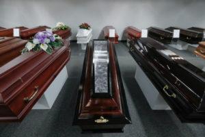 Гробы для умерших от Коронавируса