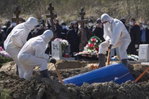 Организация похорон в условиях Ковида
