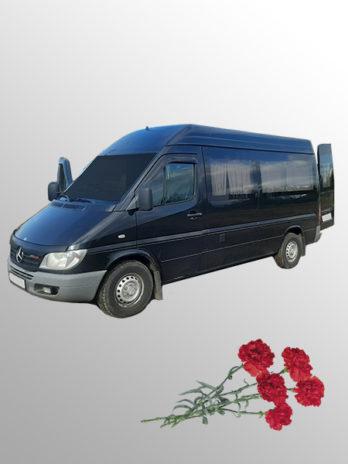 Ритуальный транспорт Мерседес Бенц черный
