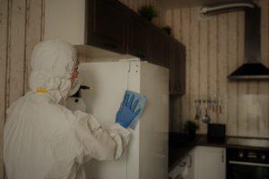 Нюансы проведения дезинфекции помещения, где умер человек